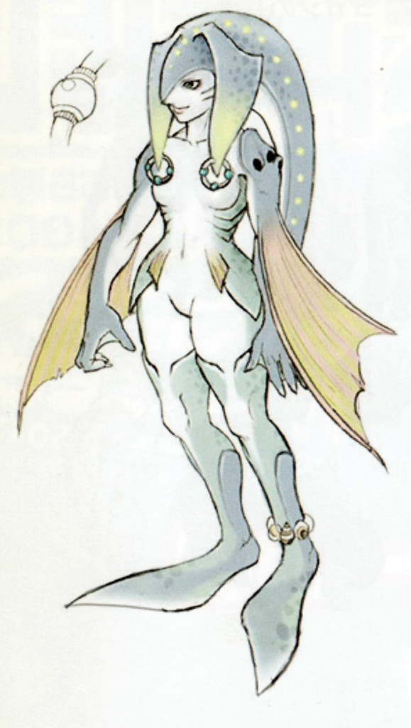 Zora Concept Art from Twilight Princess