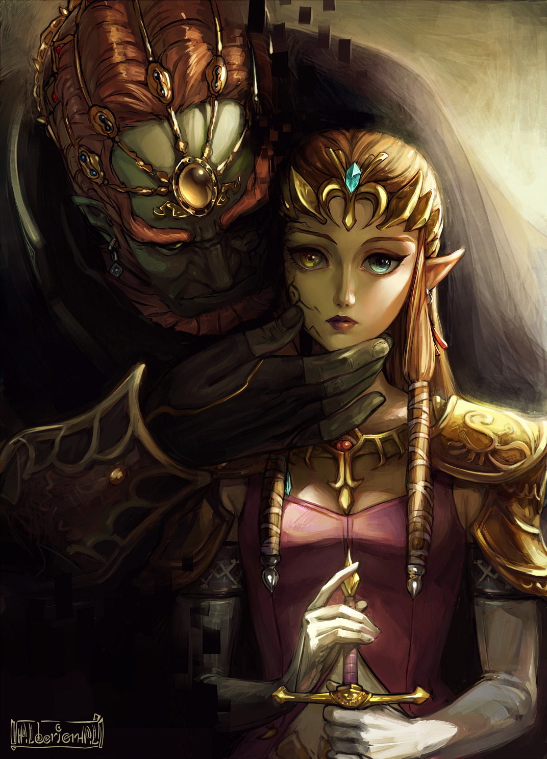 Twilight Princess Hyrule Castle Digital Fantasy Travel Diary