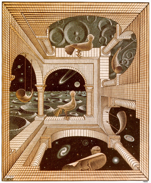 M. C. Escher Another World