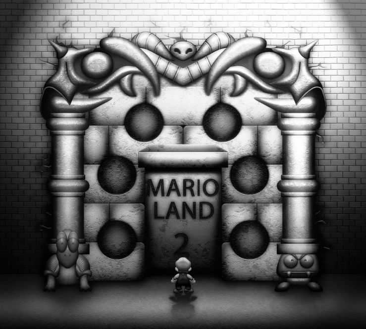 Super Mario Land 2 by blueamnesiac