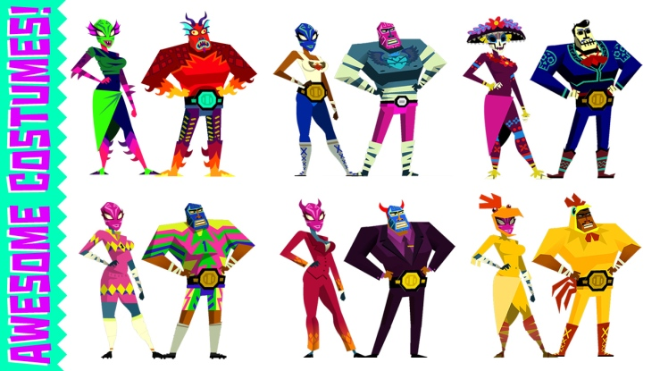 Guacamelee Gold Edition Costumes
