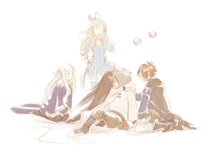 Bravely Second Ending by fabledtactician